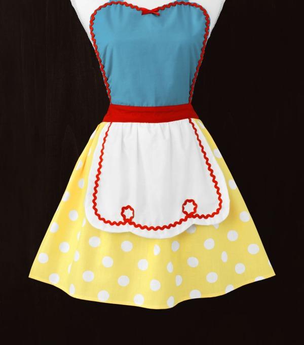 Snow White Apron
